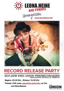 Leona Heine Unvergessen - Plakat A1 2mm Bleed 16102018